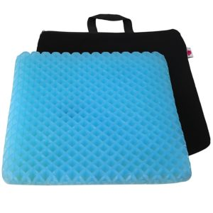 "FOMI Gel Orthopedic Seat Cushion Pad | 15"" x 15"""