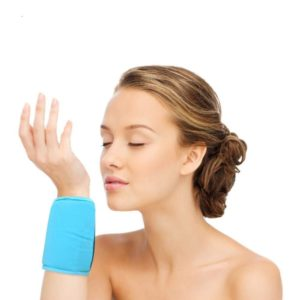 """FOMI Wrist Ankle Hot Cold Ice Wrap   360 Degree Coverage   14"""" x 4"""""""