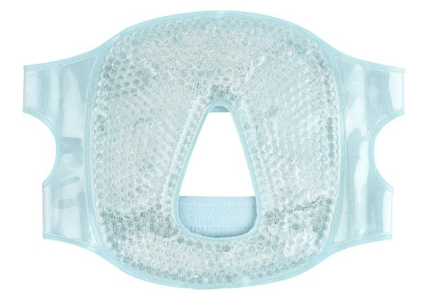 FOMI Hot Cold Gel Bead Full Facial Eye Mask   Blackout Mask - FoMI Care