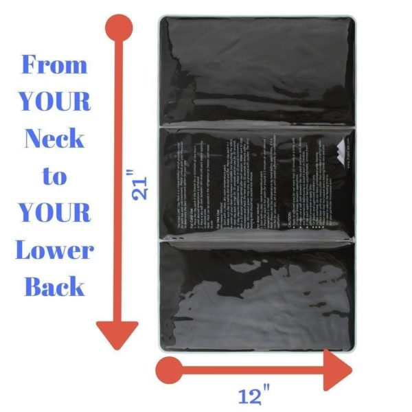 """FOMI Large Cold Clay Ice Pack for Back 