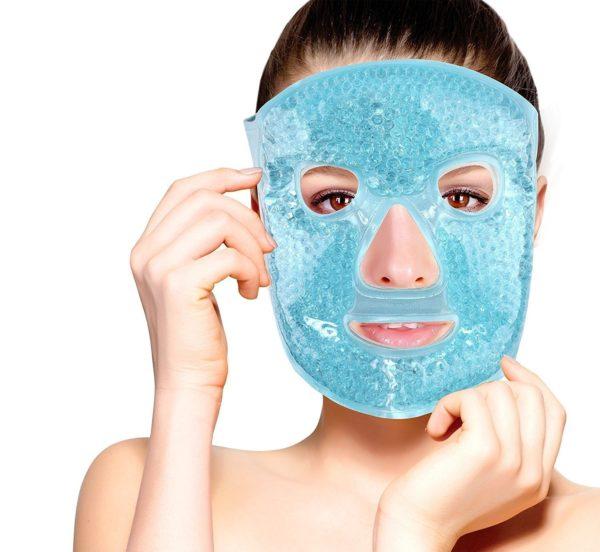 FOMI Hot Cold Gel Bead Full Facial Mask - FoMI Care