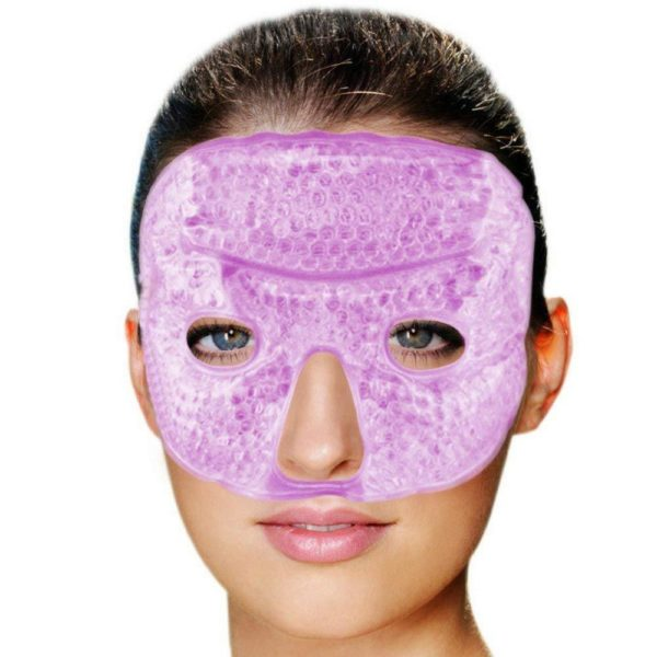 FOMI Hot Cold Gel Bead Facial Eye Mask | Lavender Scented - FoMI Care