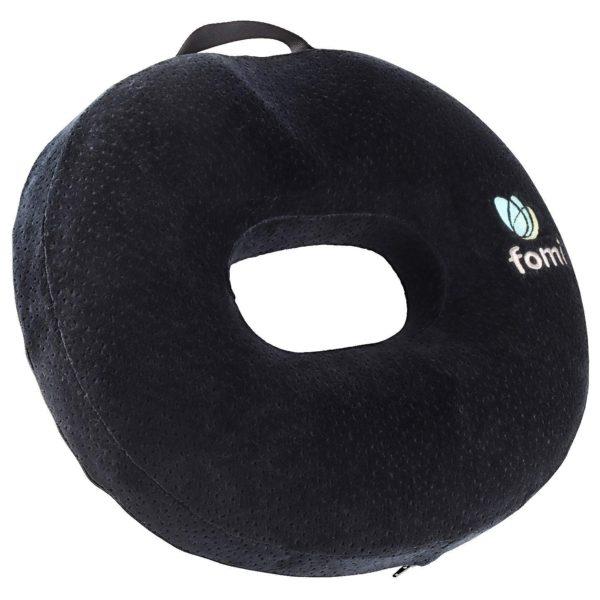 "FOMI Thick Donut Memory Foam Seat Cushion | 18"" x 16"" x 3.5"" - FoMI Care"