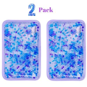 FOMI Hot Cold Gel Beads Packs | 2 Pack, Lavender Scented - FoMI Care
