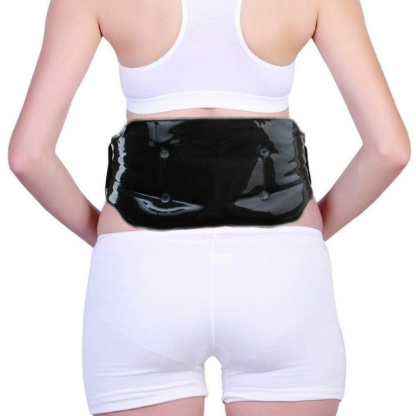 FOMI Cold Therapy Lower Back Clay Ice Pack | Includes Elastic Strap - FoMI Care