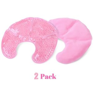 FOMI Hot Cold Breast Gel Bead Ice Packs   2 Pack - FoMI Care
