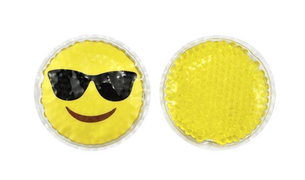 FOMI Hot Cold Kids Emoji Boo Boo Ice Packs | 4 Pack, Orange Scented - FoMI Care